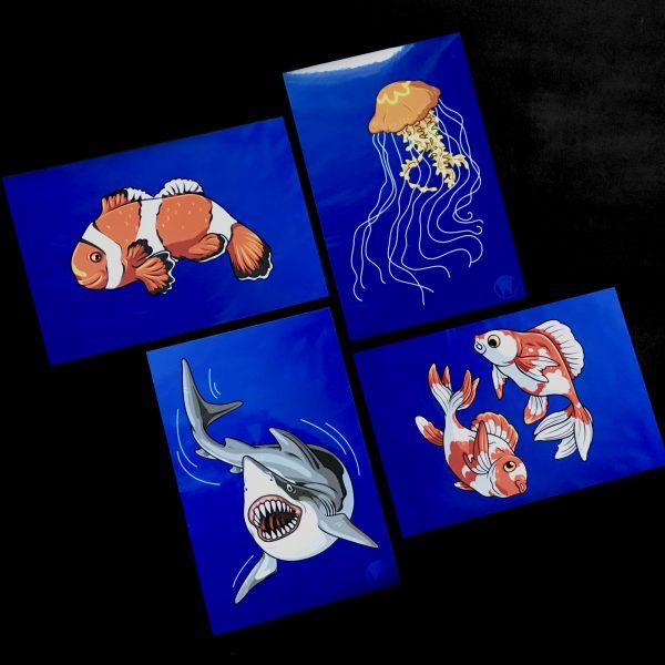 2019 Aquatic Series Print Collection