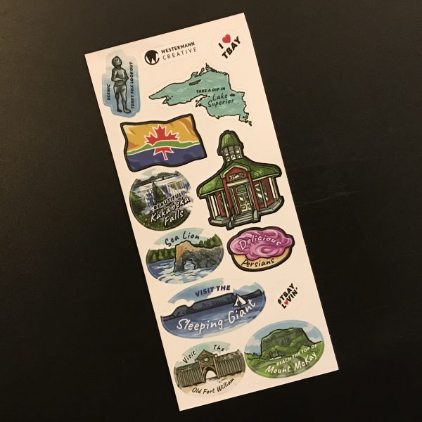 Thunder Bay Stickers by Westermann Creative