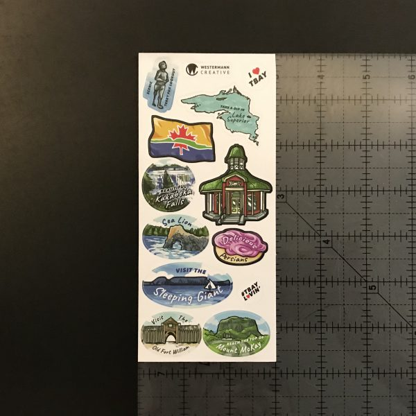 Sizing Reference for Thunder Bay Stickers