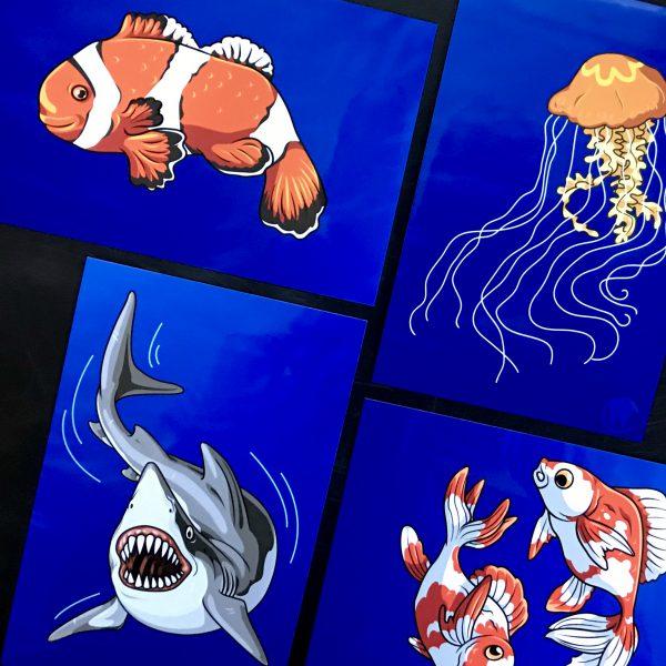 Aquatic Series Print
