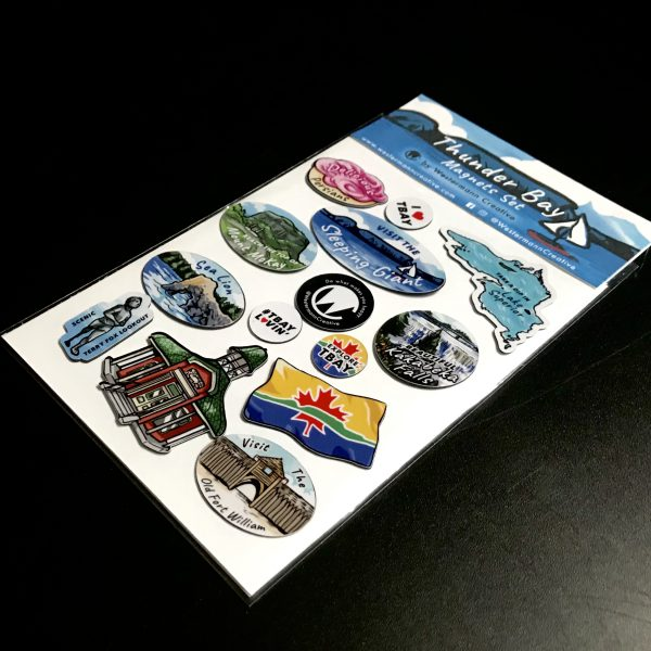 Thunder Bay Magnets Packaging, designed by Westermann Creative