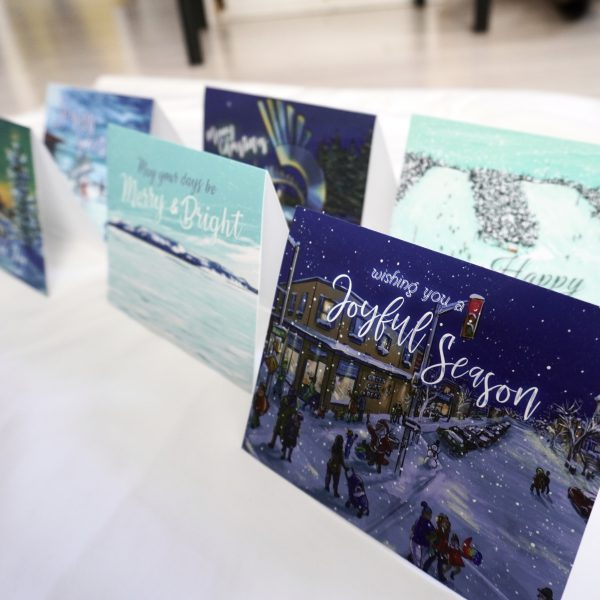 Thunder Bay Locally Themed Christmas Cards