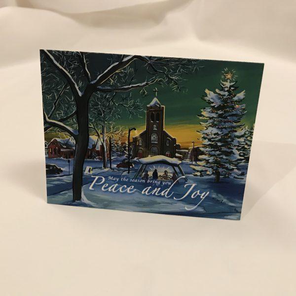 Connaught Square Thunder Bay Greeting Card