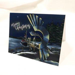 kam river park christmas card