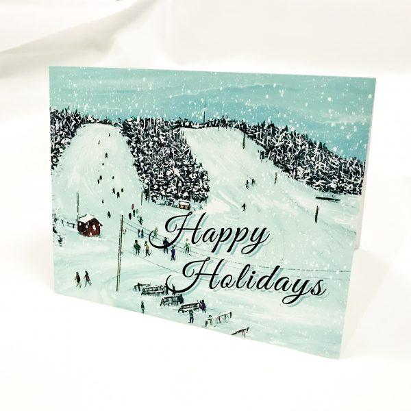 mount baldy christmas card
