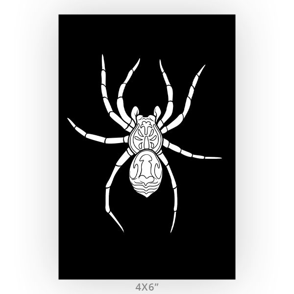 Wolf Spider Minimalistic Art Print
